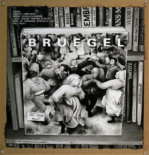 2013 - Wish List, Bruegel - acrylique sur papier, 42,5 x 40 cm