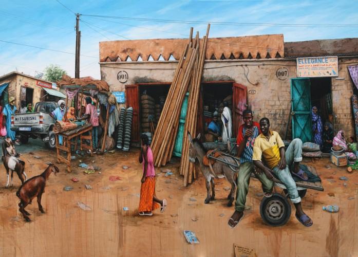 Boutilimit,-Mauritania---acrylic-on-wood---180-x-244-cm---2008