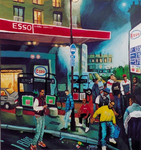 Esso-Posse---2001-acrylic-on-wood-104-x-99-cm