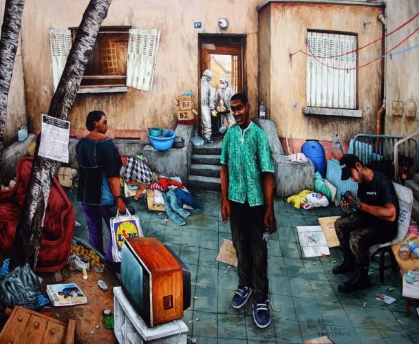 Ex-Squat,-rue-de-la-Fraternite---acrylique-sur-bois---100-x-120-cm---2005