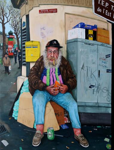 Georges---acrylique-sur-bois---170-x-129-cm---2003