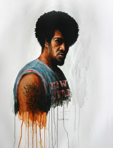 Hip-Hop-Tributes-1---Redman---acrylic-on-paper---50-x-40-cm---2005