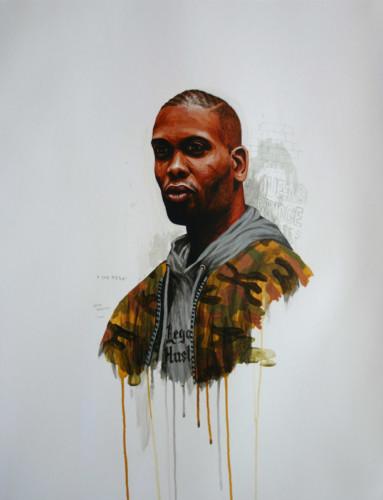 Hip-Hop-Tributes-2---Cormega---acrylic-on-paper---65-x-50-cm---2006