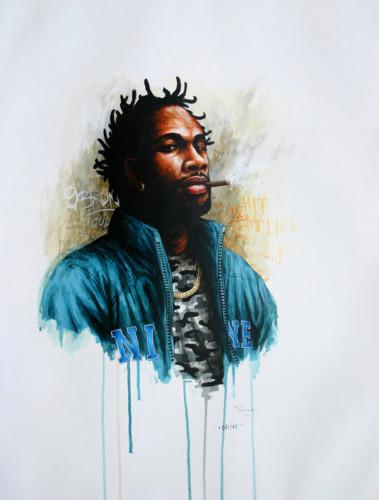 Hip-Hop-Tributes-3---Nine---acrylic-on-paper---62-x-47-cm---2007