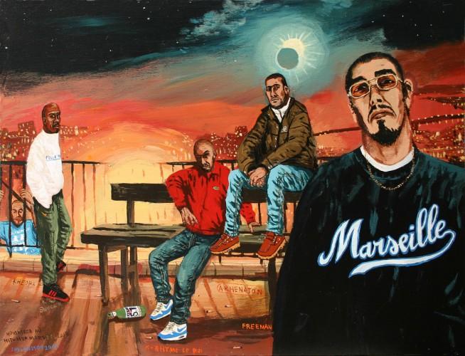 Hommage-au-Hip-Hop-marseillais---acrylique-sur-bois---38-x-50-cm---2002