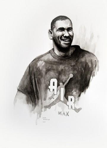 Les-details,-Max---acrylic-on-paper---36-x-26-cm---2008