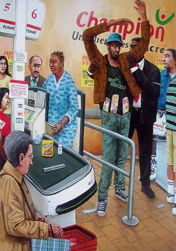 Les-gateaux-dans-le-pantalon---acrylic-on-wood---70-x-48-cm--2003