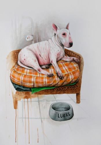 Lukas-a-de-l'eczéma---acrylic-on-paper---100-x-70-cm---2008
