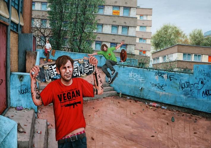 Marre-de-Vivre---acrylique-sur-bois---81-x-116-cm---2009