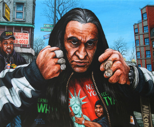 NYC---Ernie-Paniccioli---acrylic-on-wood---28,5-x-34-cm---2007