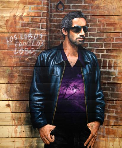 Oreja---acrylique-sur-palette-en-bois---94-x-79-cm---2011