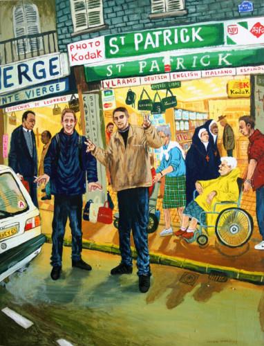 Patrick-a-Lourdes---acrylique-sur-bois---80-x-61-cm---2001