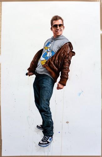 R---Michiel---acrylique-et-fusain-sur-papier---2011