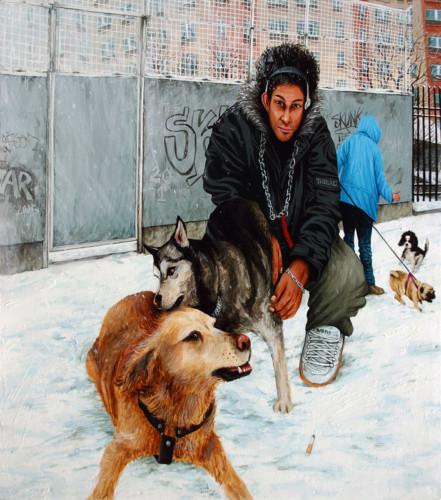 Temps-de-chiens---acrylique-sur-bois---75-x-69-cm---2005
